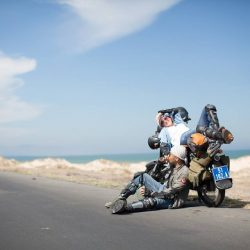 Rent a motorbike is the best and cheapest way to explore Danang