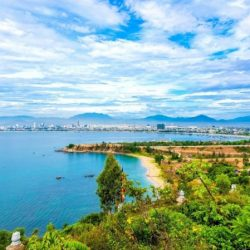 View from Son Tra Peninsula in Danang
